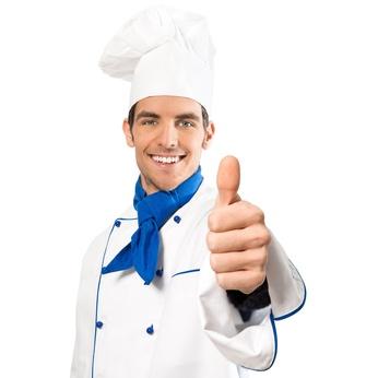 Koch macht Topdaumen